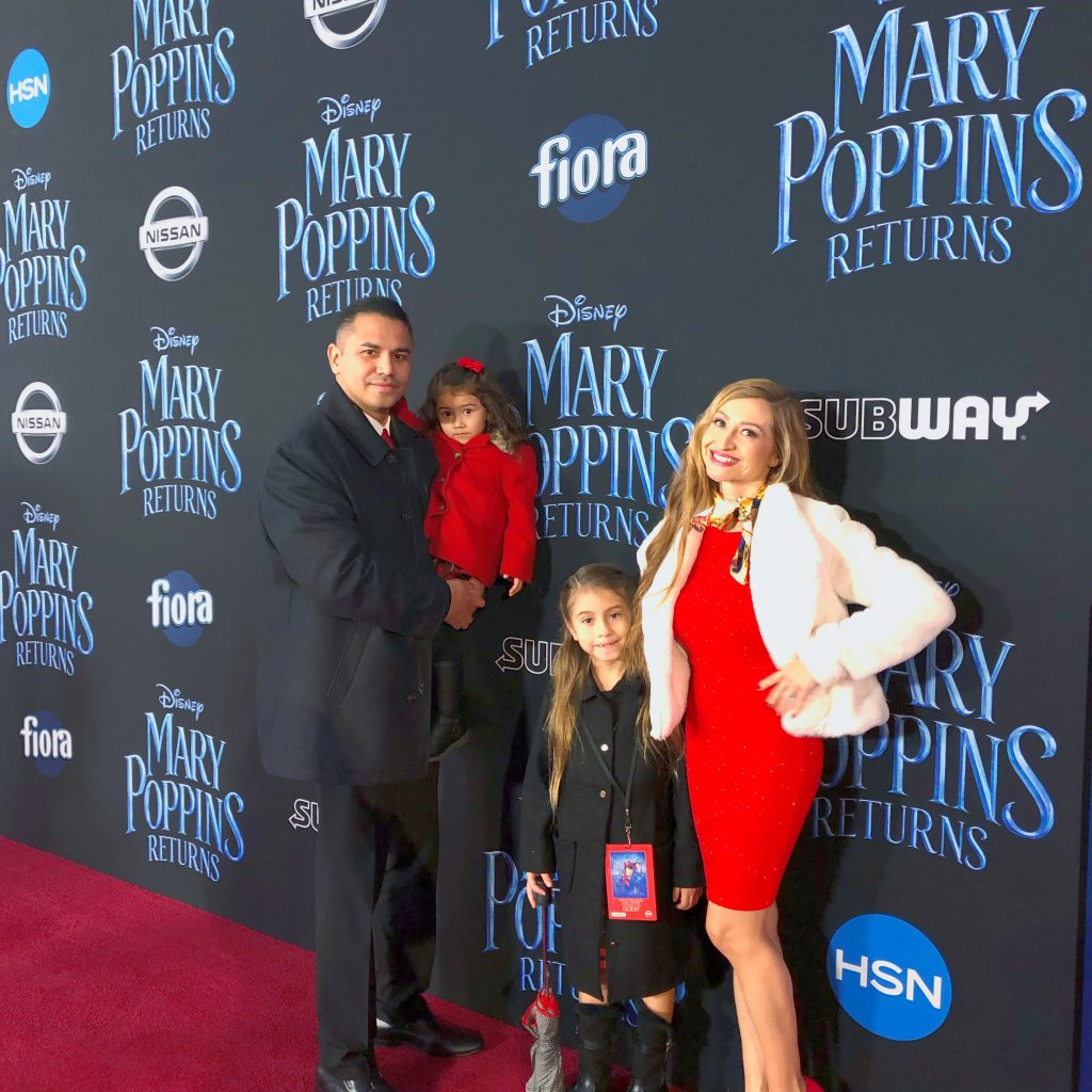 Mary Poppins Returns World Premiere red carpet