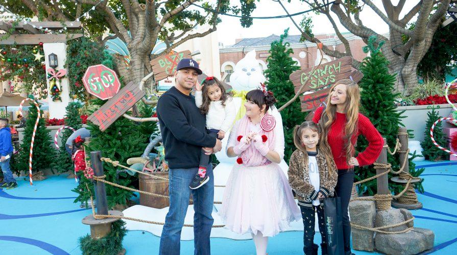 Grinchmas Universal Studios hollywood Christmas 2018