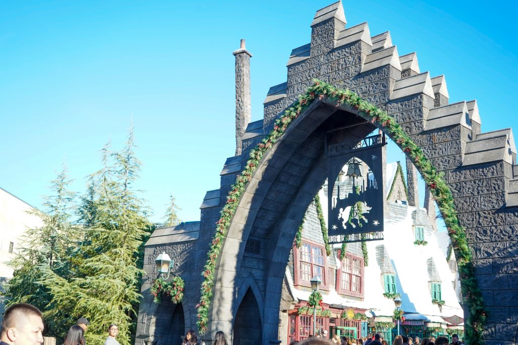 Universal Studios Christmas in the Wizarding World of Harry Potter