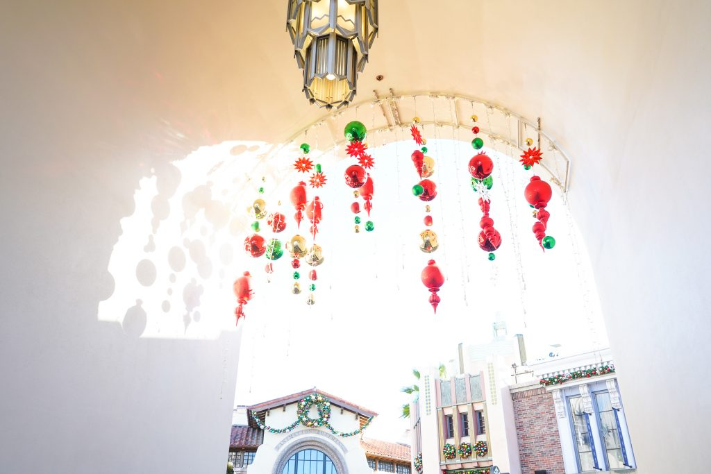 Grinchmas Universal Studios hollywood Christmas 2018 Minions Harry Potter Wizarding World Christmas