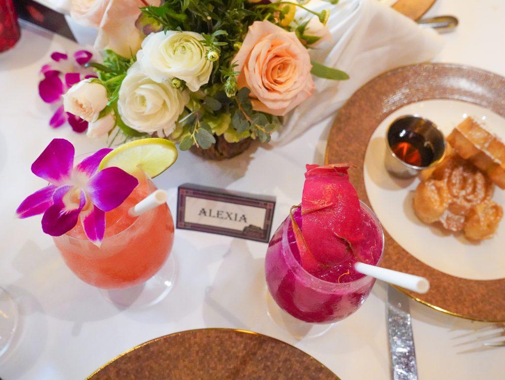 Disney-Princess-Breakfast-Adventure- Grand Californian Hotel- Disneyland-Character Dining-Drink Menu-Napa Rose