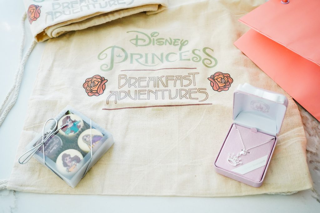 Disney-Princess-Breakfast-Adventure- Grand Californian Hotel- Disneyland-Character Dining-Parting Gift-Napa Rose-Repunzel
