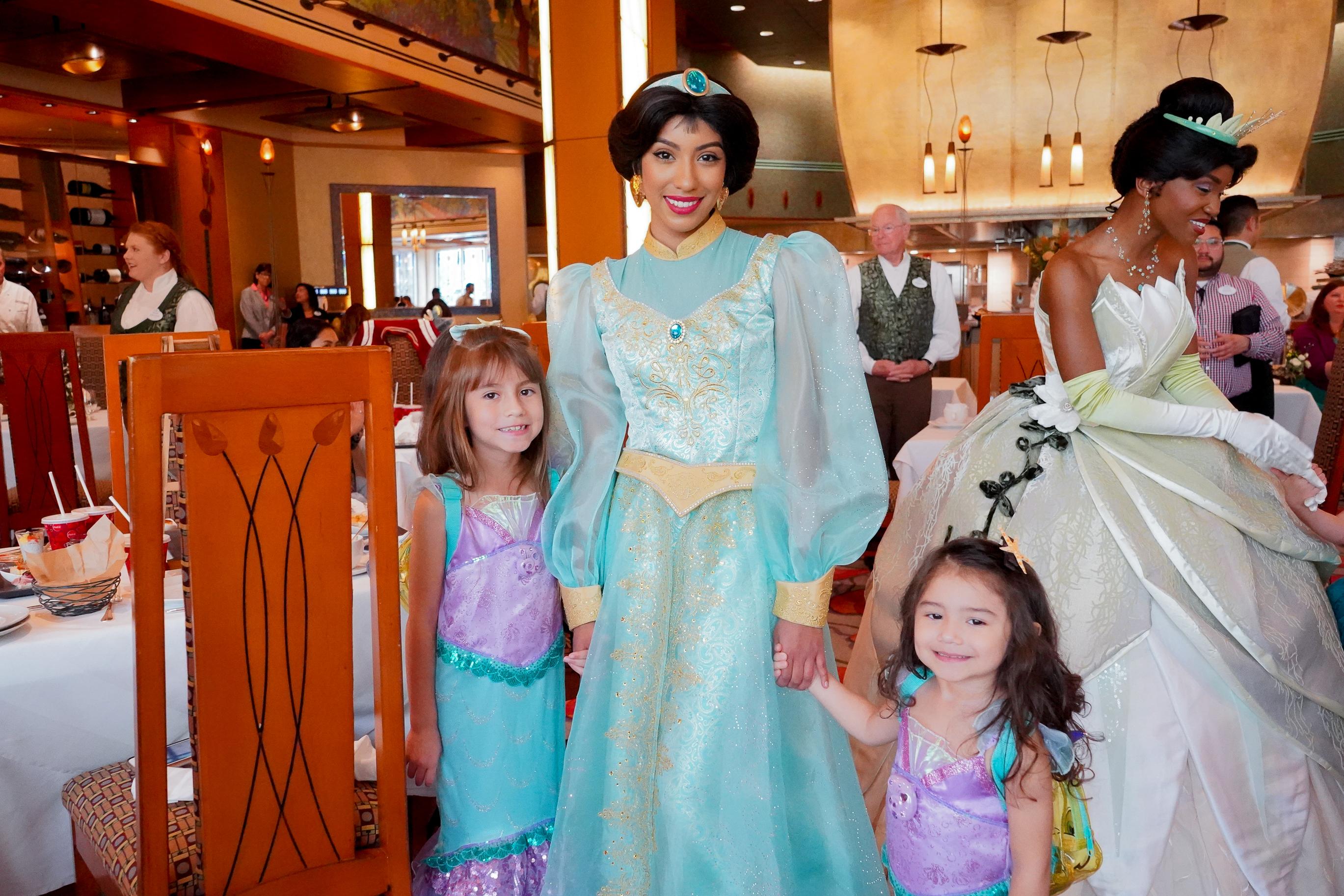 Disney Princess Breakfast Adventure Grand Californian Hotel