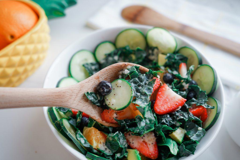 Orange Poppy Seed Kale Salad Dressing Recipe