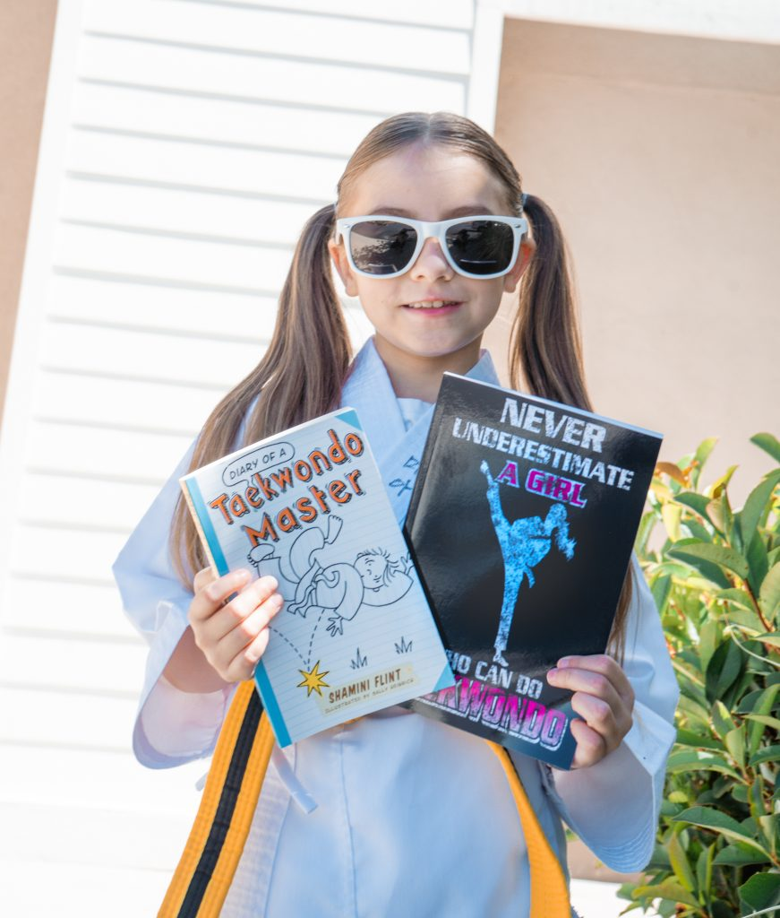 Taekwando Girl - Amazon-Back to school -School Year's Resolutions Made Easier with Amazon