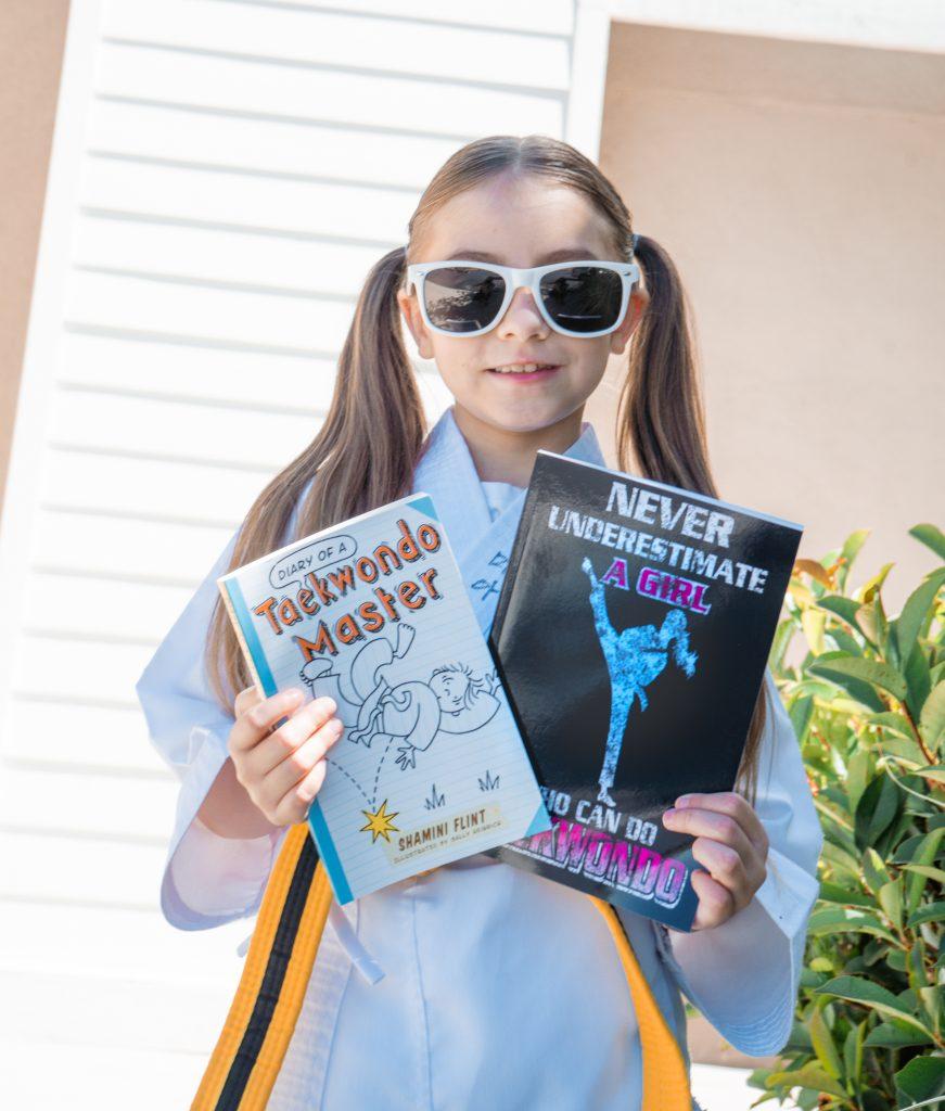 Taekwando Girl - Amazon-Back to school -School Year's Resolutions Made Easier with Amazon