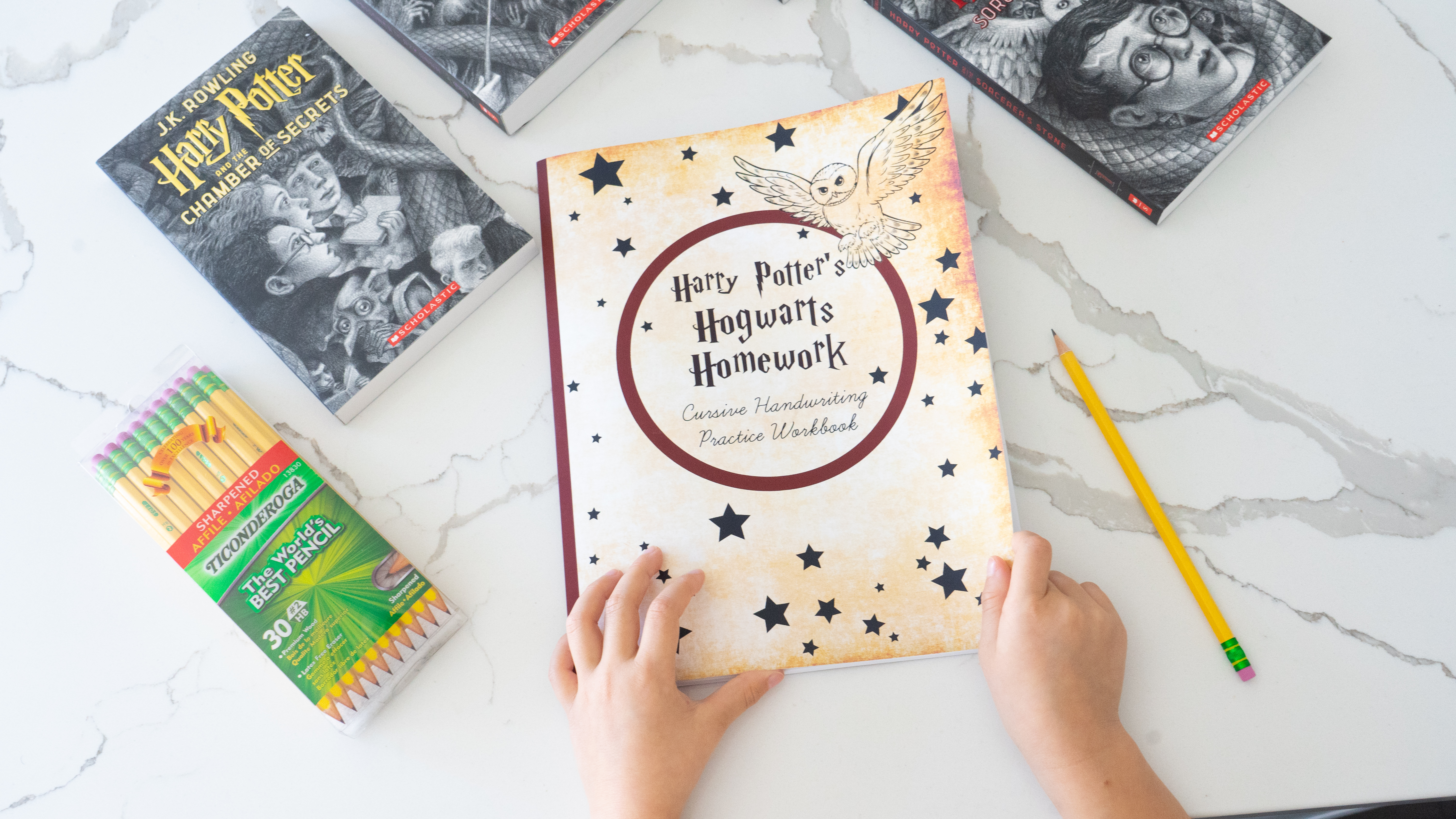 Amazon-Back to school-deals-Harry Potter-Cursive-Made Easier-School Year's Resolutions Made Easier with Amazon