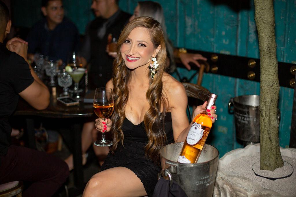 Vanderpump Cocktail Garden-Caesars Palace-Las Vegas-Birthday Ideas for Adults-Vanderpump Rose