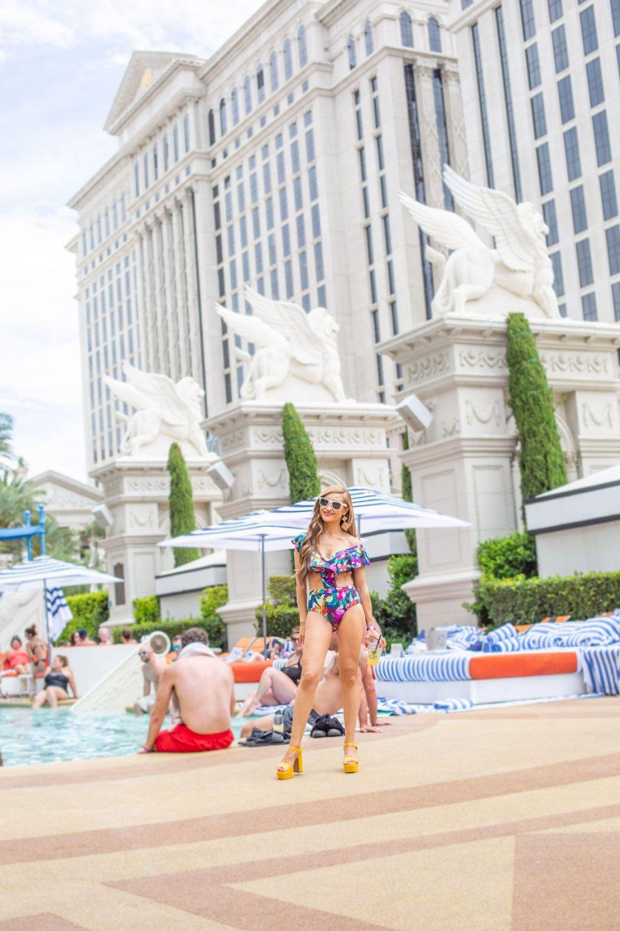 Cove Beach-Las Vegas-Cabana-Caesars Palace-Pool Party-Birthday Ideas for Adults
