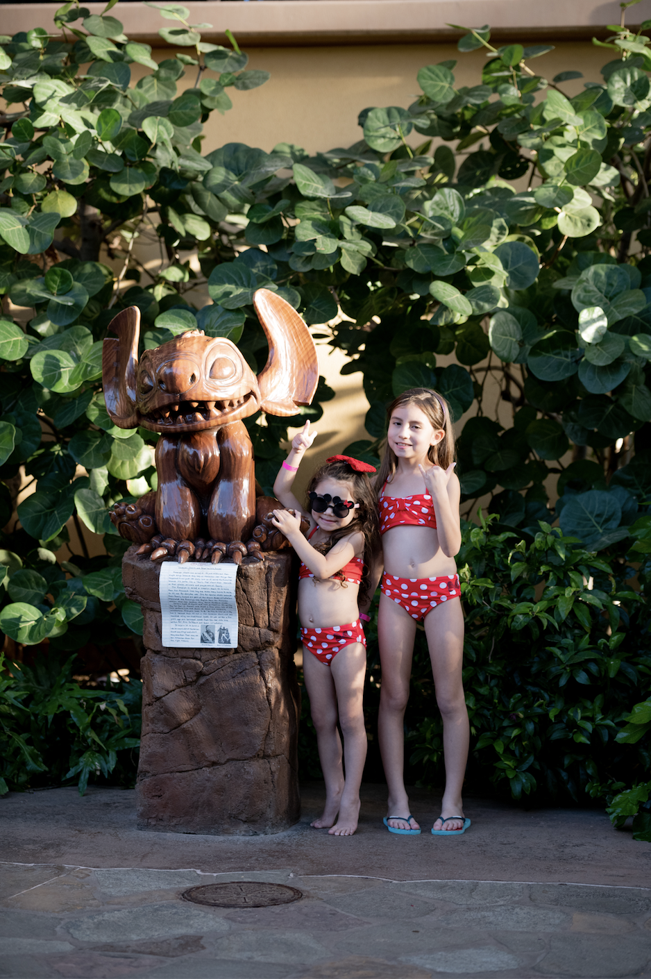 Stitch-Statue-Disney's Aulani Most Instagram-Worthy Spots-Stitch Statue-more affordable than you think-deals-family travel-Hawaii