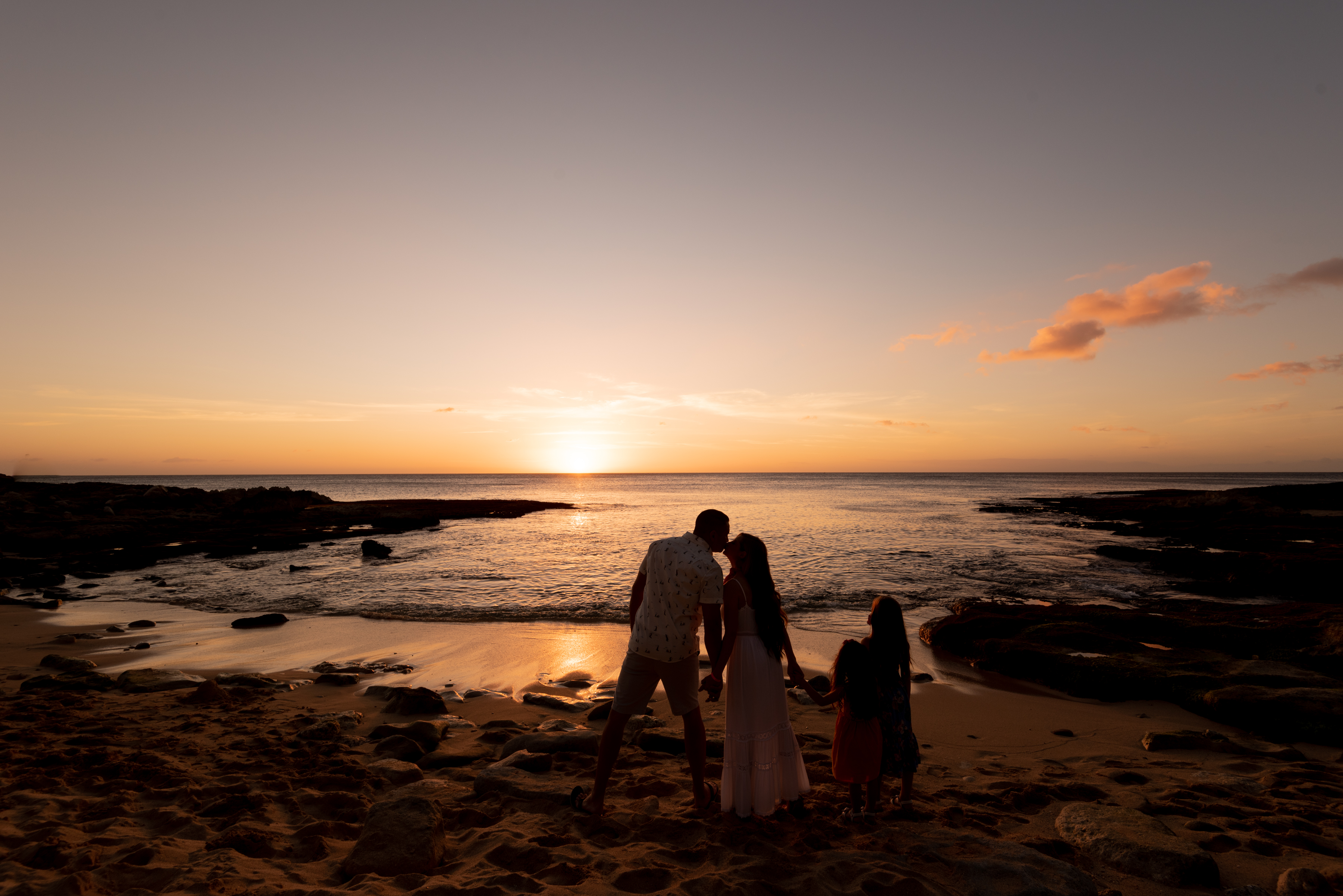 Disney Aulani Resort-more affordable than you think-deals-family travel-Hawaii-family photography-sunset