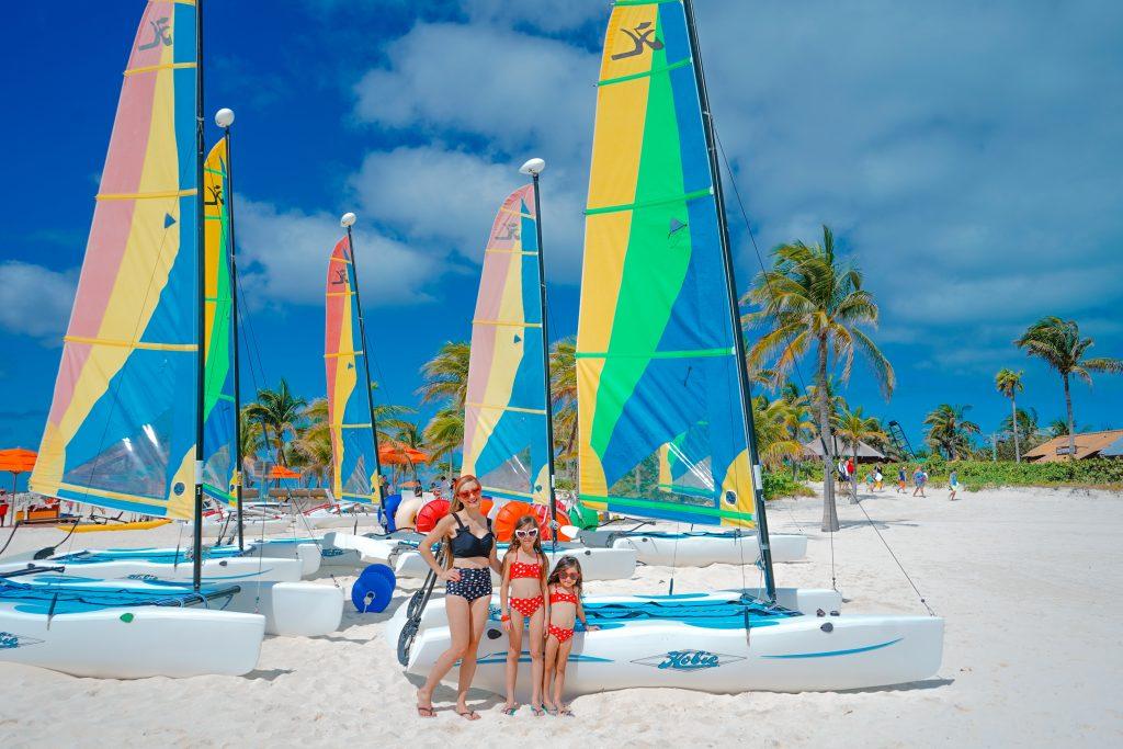 Disney Dream-Disney Bound-Minnie-Disney's Private Island-Castaway Cay-2020-Disney Cruise Tips for Anxious Parents