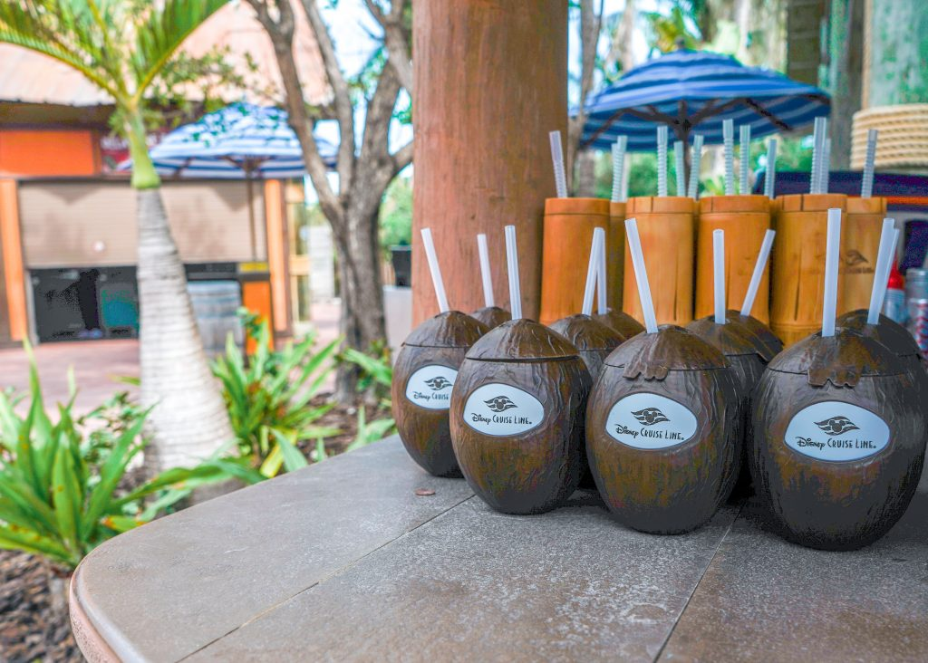 Disney Dream-Disney's Private Island-Castaway Cay-2020-coconut milk-rum-drink