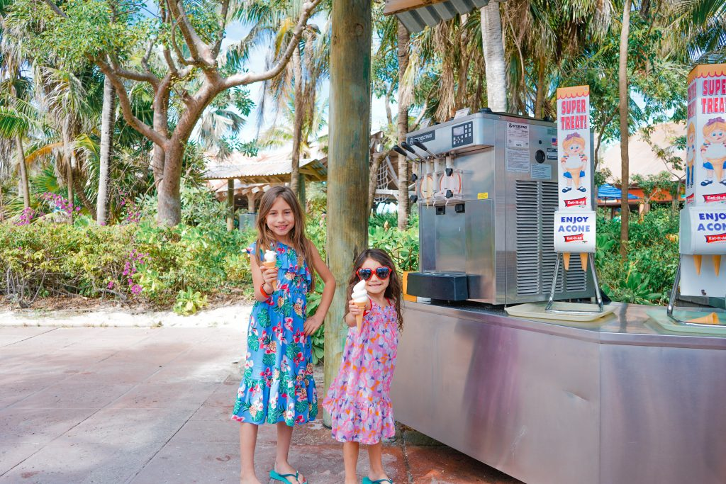 DSC07402 copyDisney Dream-self serve soft serve-Disney's Private Island-Castaway Cay-2020-Food Allergies