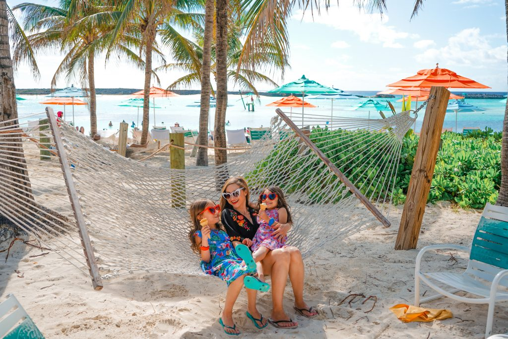 Disney Dream-Disney's Private Island-Castaway Cay-2020-hammock