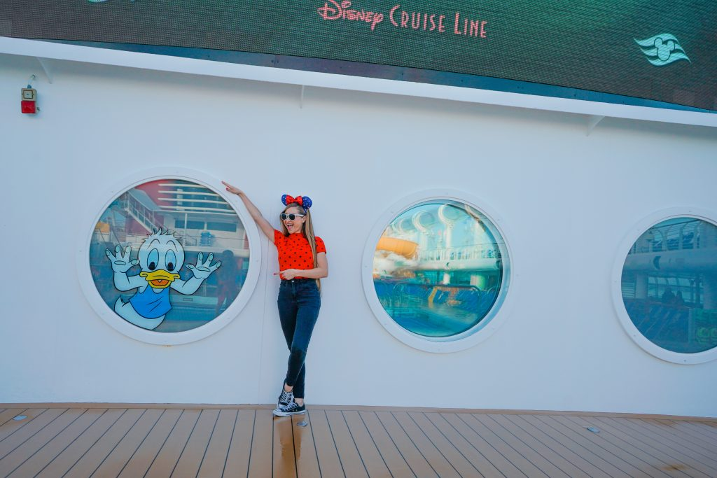Disney Cruise Tips for Anxious Parents-Disney Dream-Pool Deck
