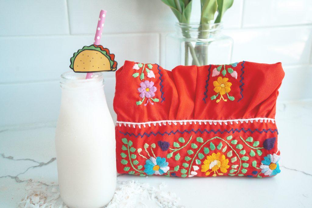 Coconut Milk Horchata - Vegan - Summer Drink - recipe