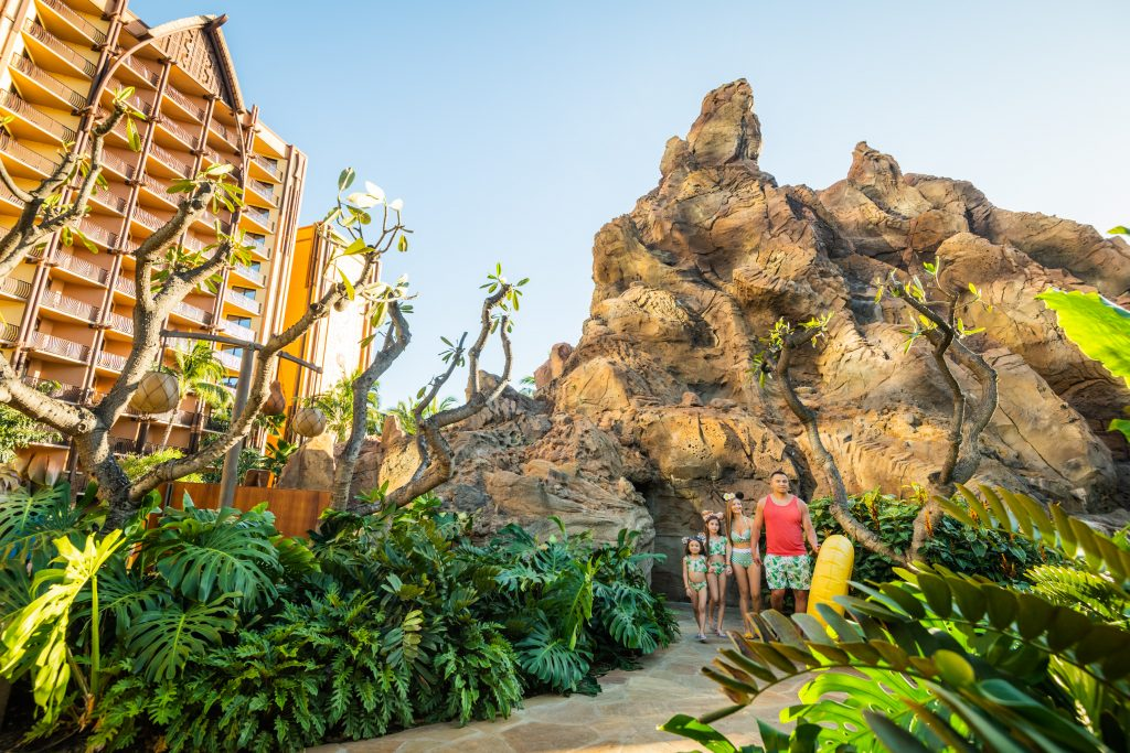 10 Reasons to Visit Aulani, a Disney Resort & Spa 2021 - Family Vacation Review - Health and Safety Modifications-Menehune Trail-Disney Food-Painting with Light- Make Your Own Mickey Ears
