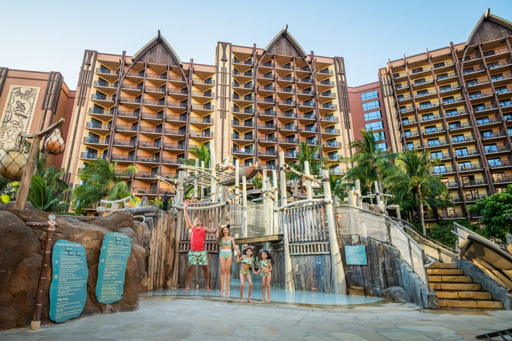 10 Reasons to Visit Aulani, a Disney Resort & Spa 2021 - Family Vacation Review - Health and Safety Modifications-Easter Egg Hunt- Character Breakfast- Aulani Luau- KA WA'A-Menehune Trail-Disney Food-Painting with Light- Make Your Own Mickey Ears