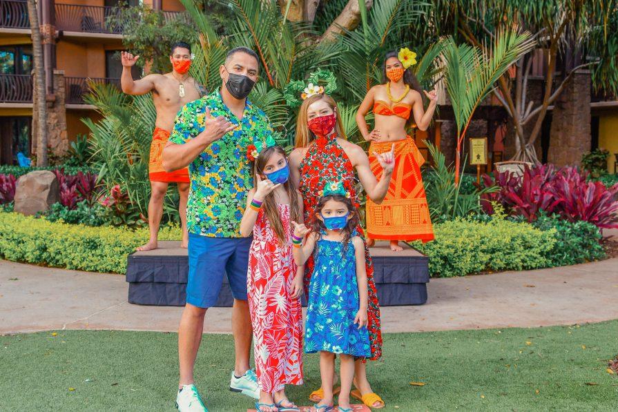 A 2021 Return To KA WA'A - Disney Luau Review Aulani Oahu Health Safety Modifications Kid-Friendly Allergy-Friendly-Make your own Mickey Ears
