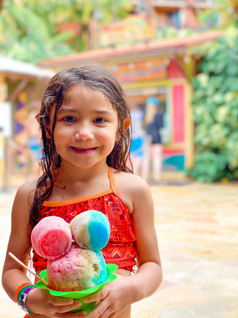 10 Reasons to Visit Aulani, a Disney Resort & Spa 2021 - Family Vacation Review - Shave Ice - Mickey-shaped