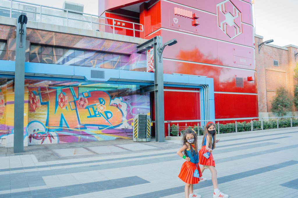 Avengers Campus-Top 10 Parent Tips-Disney California Adventure Park- WEB Slingers-Marvel-MCU- Score more points- what to bring- what to see do
