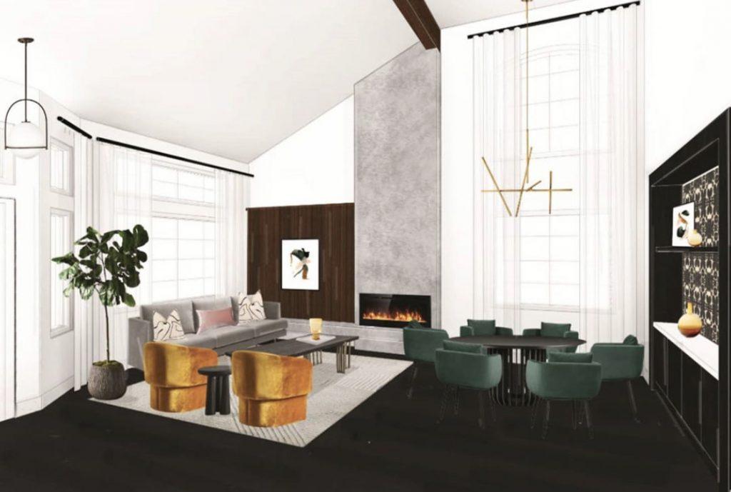 DIY Modern Living Room Renovation-ideas