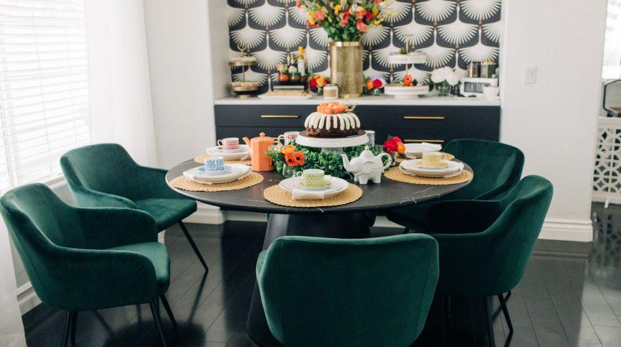 Easy Modern Dining Room DIY Renovation-Fixer Upper-High-Ceiling-Design-Ideas